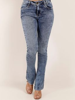 Calca-Jeans-Boot-Cut-Feminina-Azul