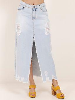 Saia-Longa-Jeans-Feminina-Azul