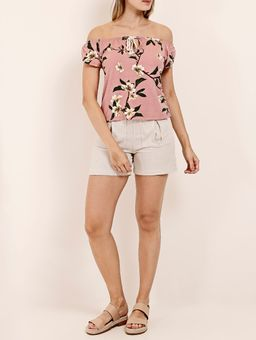 Blusa-Ciganinha-Floral-Feminina-Rosa