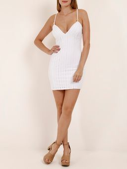Vestido-Curto-Feminino-Branco-P