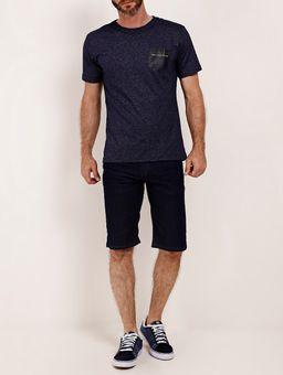 Bermuda-Jeans-Bolsos-Eletron-Masculina-Azul