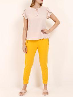 Calca-Jogger-Feminina-Amarelo