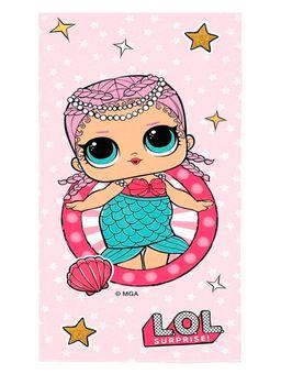 Toalha-L.O.L-Surprise-Lepper-Infantil-para-Menina---Rosa