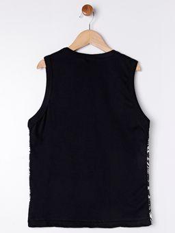 Camiseta-Regata-Estampa-Tropical-Juvenil-para-Menino---Preto