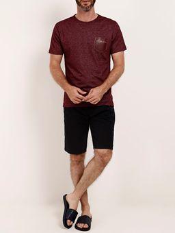 Camiseta-Manga-Curta-Masculina-Full-Surf-Bordo-P