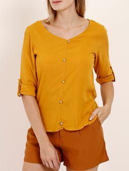 Z-\Ecommerce\ECOMM\FINALIZADAS\Feminino\123744-blusa-mga-3-4-tecido-disfrutti-visco-lisa-c-botoes-amarelo