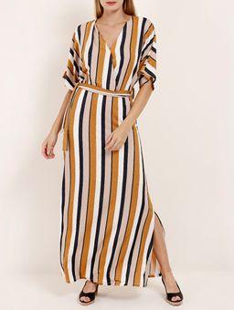 Vestido-Feminino-Amarelo-azul-P