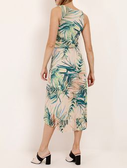 Vestido-Estampado-Autentique-Feminino-Bege