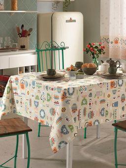 Toalha-de-Mesa-Dohler-Branco--Multicolorido