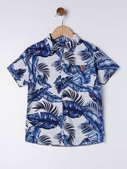 Camisa-Manga-Curta-Infantil-Para-Menino---Azul-1