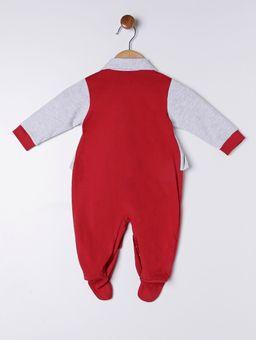 Macacao-Infantil-Para-Bebe-Menina---Cinza-vermelho-P