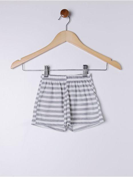 Pijama-Curto-Infantil-Para-Menina---Bege-6