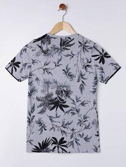 Camiseta-Manga-Curta-Juvenil-Para-Menino---Cinza-preto-16