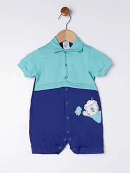 Macacao-Infantil-Para-Bebe-Menino---Verde-azul-P