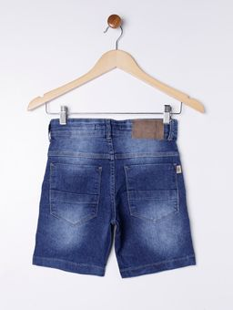 Bermuda-Jeans-Puidos-Juvenil-para-Menino---Azul