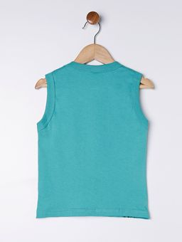 Camiseta-Regata-Infantil-Para-Menino---Verde-1