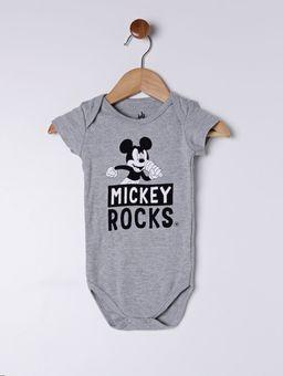 Body-Disney-Infantil-Para-Bebe-Menino---Cinza-P