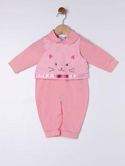 Macacao-Infantil-Para-Bebe-Menina---Salmao-P