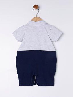 Macacao-Infantil-Para-Bebe-Menino---Cinza-azul-Marinho-P