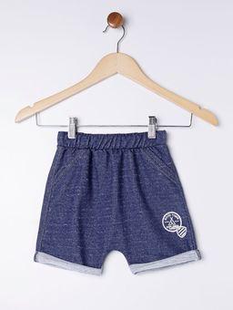 Bermuda-Moletinho-Infantil-para-Menino---Azul-Marinho