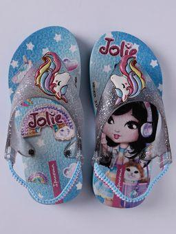 Sandalia-Ipanema-Jolie-Infantil-para-Bebe-Menina---Azul-prata