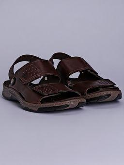 Sandalia-em-Couro-Pegada-Masculina-Marrom
