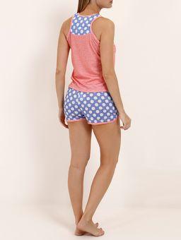 Pijama-Curto-Feminino-Salmao-azul-P