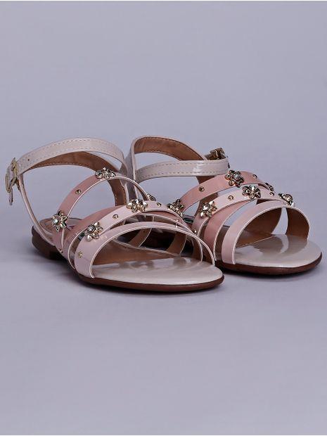 Sandalia-Rasteira-Infantil-para-Menina---Off-White-rosa