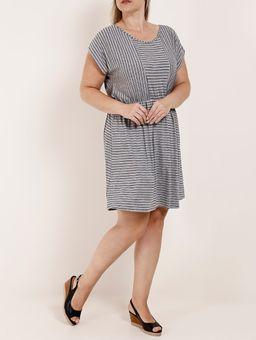 Vestido-Curto-Plus-Size-Feminino-Cinza