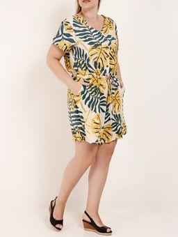 Macaquinho-Estampado-Plus-Size-Feminino-Amarelo-XG