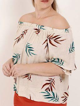 Blusa-Ciganinha-Plus-Size-Feminina-Bege-G2