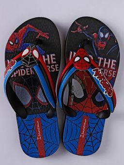 Chinelo-Homem-Aranha-Infantil-Para-Menino---Preto-azul-25-26