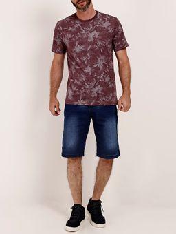 Camiseta-Estampada-Manga-Curta-Full-Surf-Masculina-Bordo