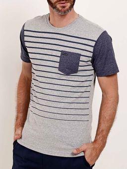 Camiseta-Bolso-Manga-Curta-Masculina-Full-Surf-Cinza-azul