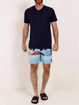 Camiseta-Basica-Manga-Curta-Masculina-Azul-Marinho