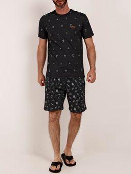 Camiseta-Manga-Curta-Masculina-Vels-Chumbo-P