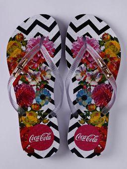 Chinelo-Coca-Cola-Chevron-Flowers-Feminino-Branco-33-34