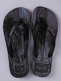 Chinelo-Coca-Cola-Tropic-Wood-Masculino-Preto-37-38