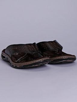 Chinelo-Masculino-Pegada-Marrom-Escuro-38