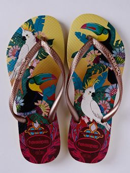 Chinelo-Feminino-Havaianas-Slim-Tropical-Amarelo-rose-33-34