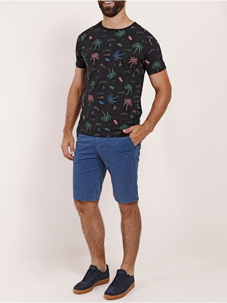 Camiseta-Slim-Manga-Curta-No-Stress-Masculina-Preto
