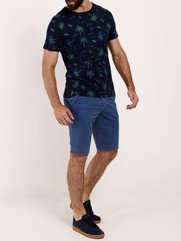Camiseta-Slim-Manga-Curta-No-Stress-Masculina-Azul