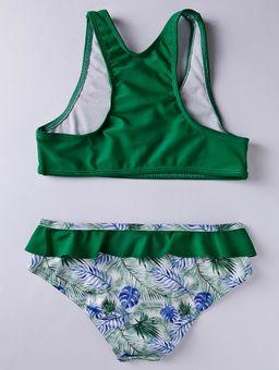 Biquini-Infantil-Para-Menina---Verde-P