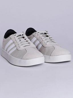 Tenis-Casual-Masculino-Adidas-Vl-Court-2-Bege-branco-38