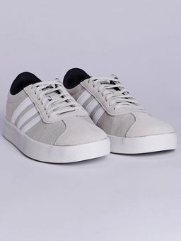 Tenis-Casual-Masculino-Adidas-Vl-Court-2-Bege-branco-38