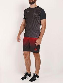 Calcao-de-Futebol-Umbro-Twr-Degrade-Masculino-Preto-vermelho-M