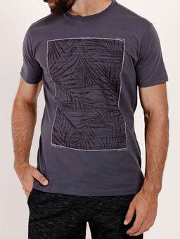 Camiseta-Manga-Curta-Dixie-Masculina-Grafite-P