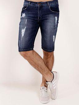 Bermuda-Jeans-Destroyed-Masculina-Azul