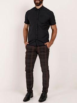 Camisa-Manga-Curta-Masculina-Preto-1