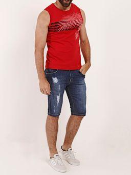 Camiseta-Regata-Masculina-Vermelho-P